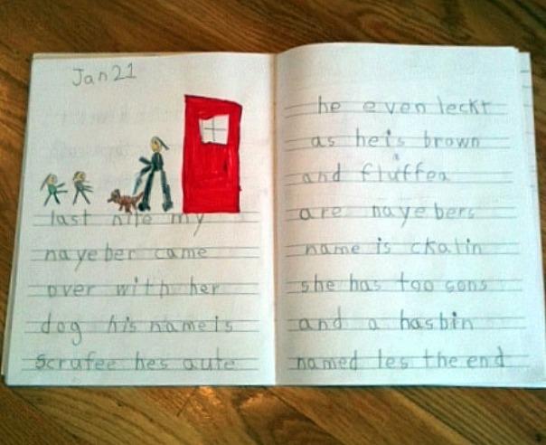 Stuff Kids Write