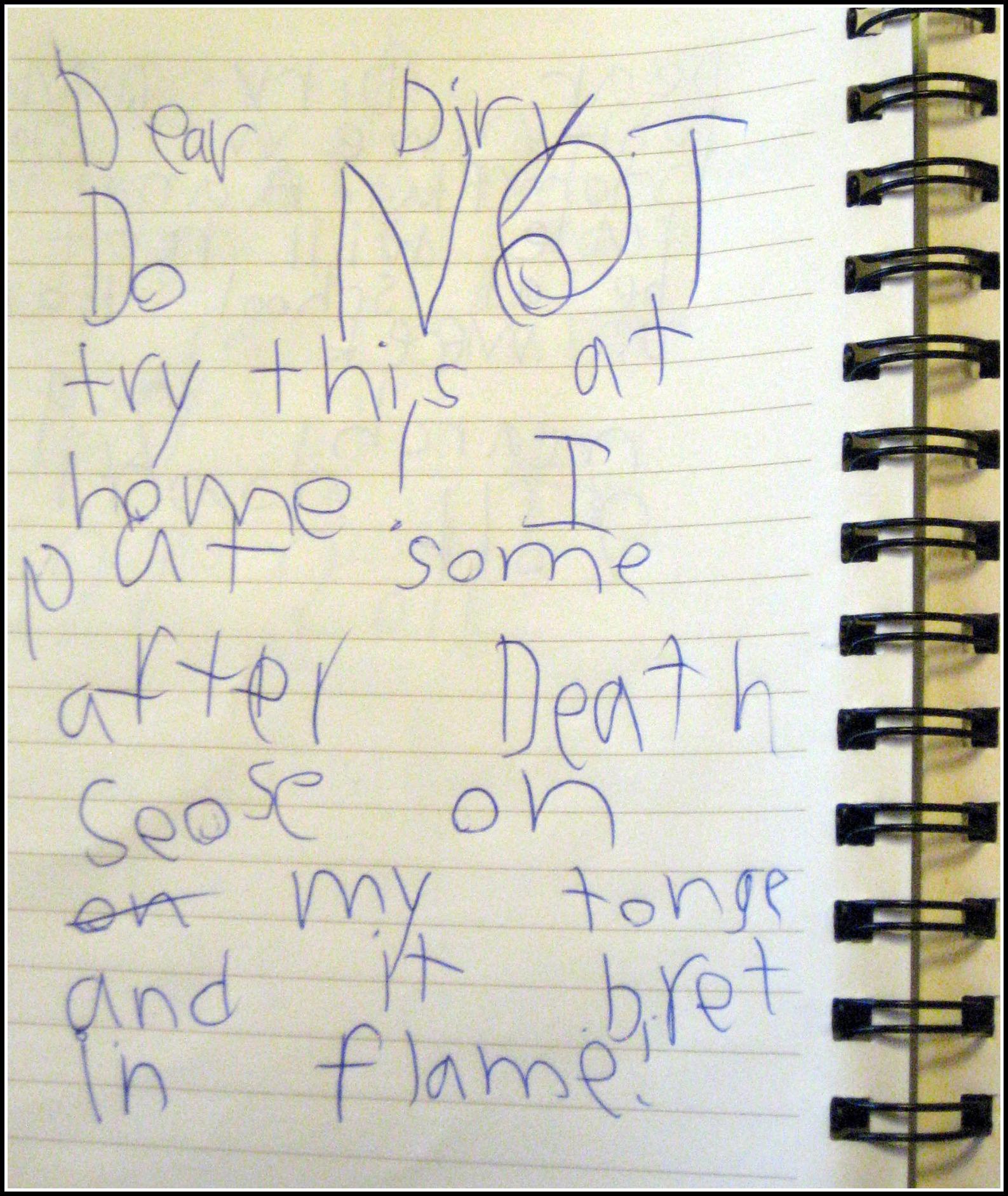 How To Write A Diary For Kids