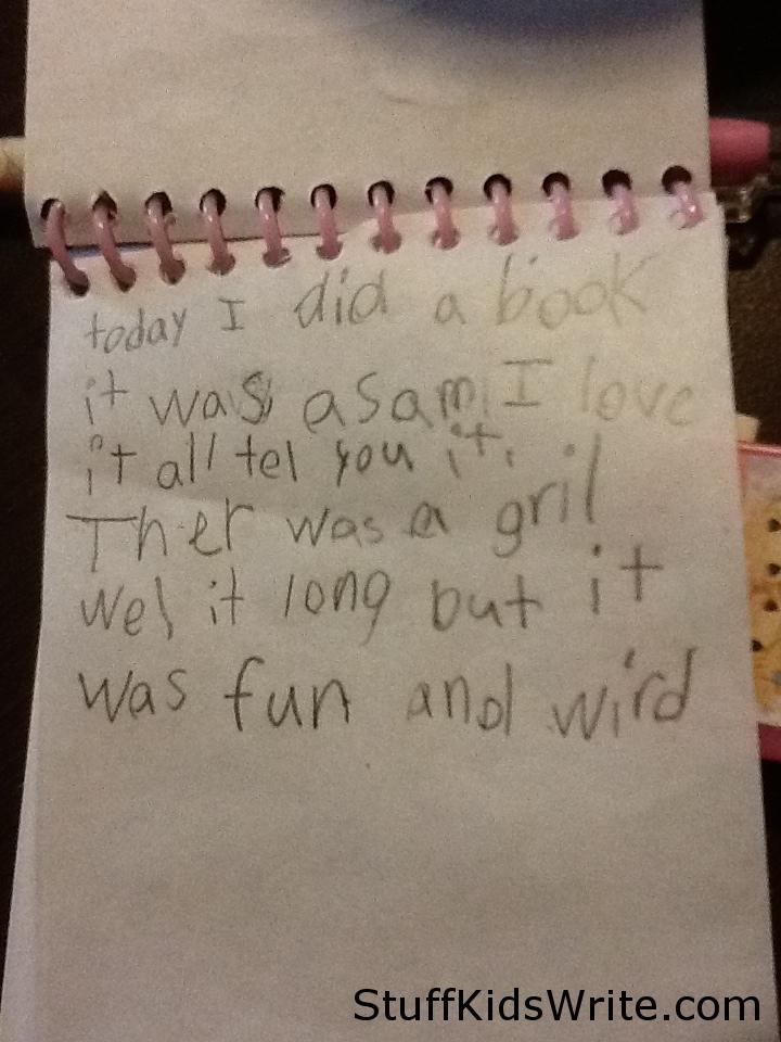 Stories   Stuff Kids Write