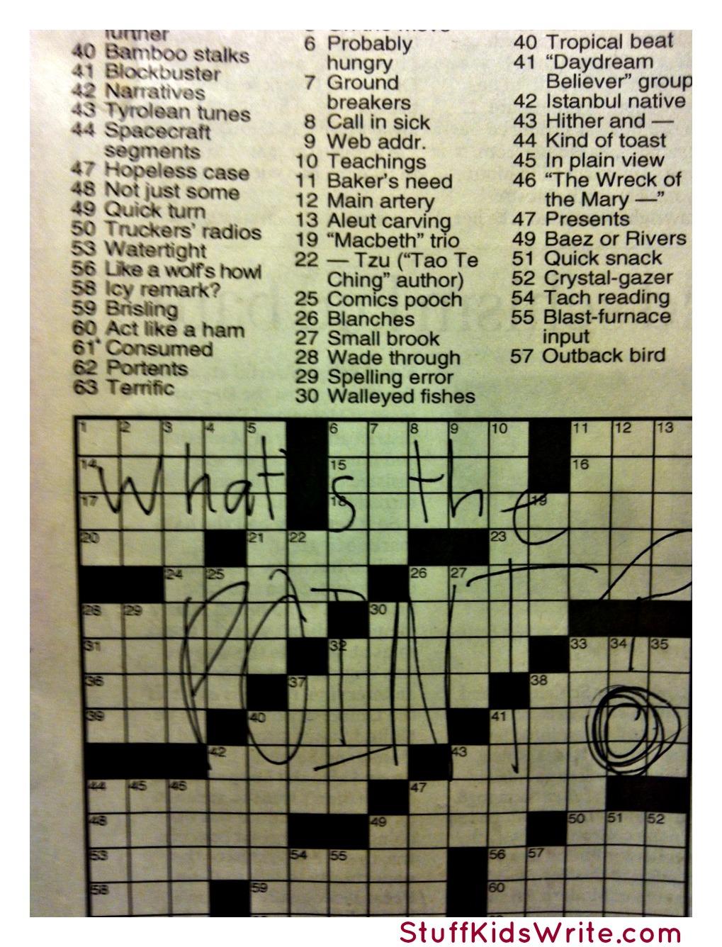 Beloved in rigoletto crossword clue