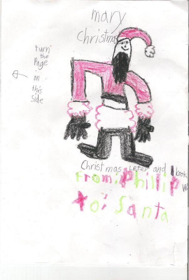 Phillip Santa Letter Page 1