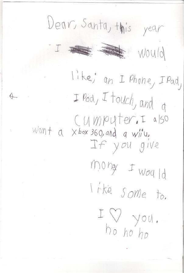 Phillip Santa Letter Page 2